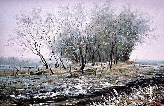 Современный русский живописец Адамов Алексей 51 (700x450, 140Kb)