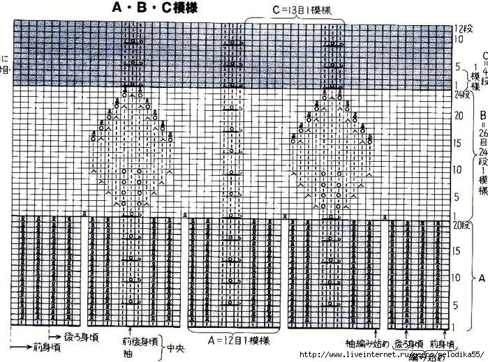 Японская кофта