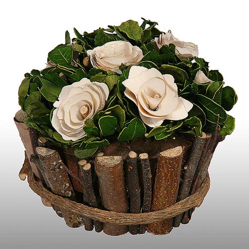 Букет из древесной стружки (500x500, 397Kb)