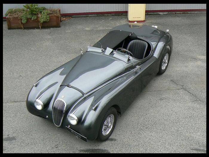 Jaguar XK120 - самая красивая машина 50-х годов 19-го века 11 (700x525, 131Kb)