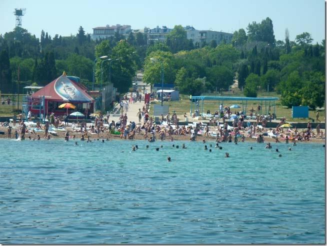 Севастополь Пляж Солнечный