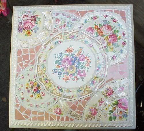Мозаика из битой посуды своими руками Мастер-классы в картинках