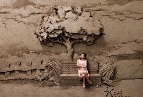 картины из песка (570x389, 163Kb)