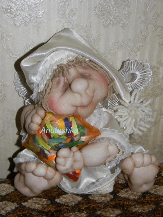 Куклы своими руками из колготок фото. Инструкция для 17