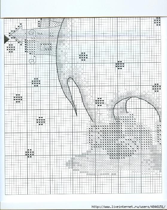 Вышивка зимний сон схема