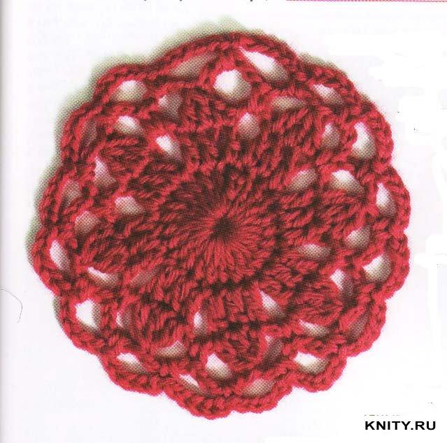 Вязание букет роз