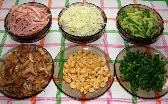 Рецепты салатов французской кухни с фото