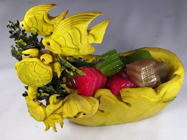 Креативнsй карвинг из овощей и фруктов6 (640x480, 81Kb)