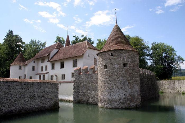 Замок Хальвиль (Schloss Hallwyl) 13007