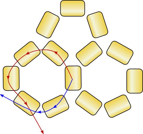 схема морской звезды из бисера - Сайт о бисере.