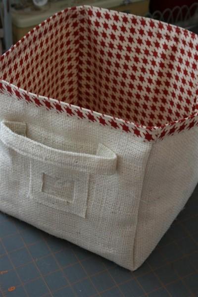 Корзины из ткани своими руками мастер класс