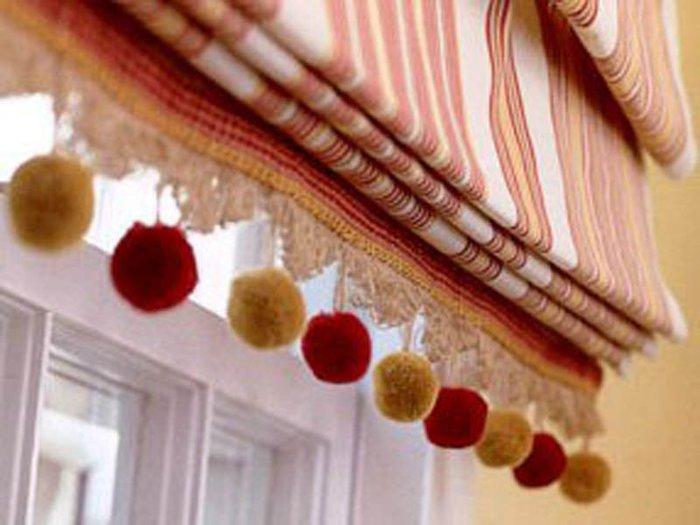 текстильных изделий - штор, покрывал, пледов, подушек и скатертей, а так же для окантовки мебели, абажуров...