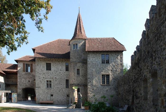 Замок Хальвиль (Schloss Hallwyl) 38374