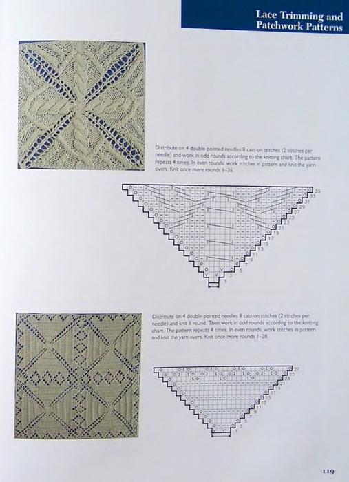 从中心开始编织的图案 - maomao - 我随心动