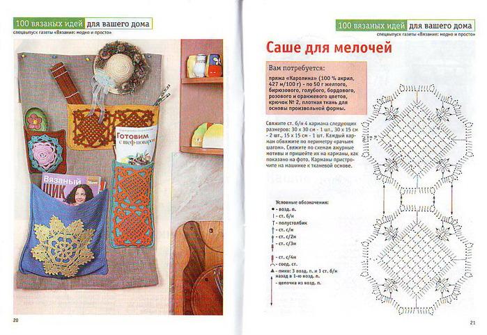 Вязание схемы и описание рукоделие 552