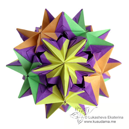 Рубрики: Оригами/Кусудама