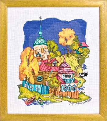 Переславль-Залеский Схемы для вышивки Panna Автор: Инякина Л. Издательство: Panna Формат: jpeg и .xsd Размер: 21 MB.