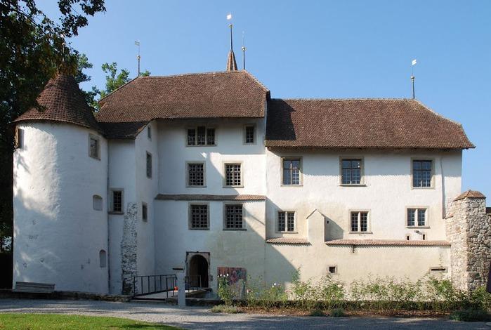 Замок Хальвиль (Schloss Hallwyl) 25015