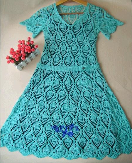 Платье для девочки летнее крючком ,узоры =ананас=/4683827_20120622_123347 (450x554, 121Kb)
