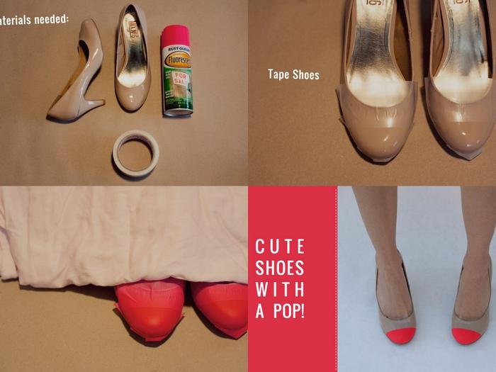Как сделать чтобы обувь не красила