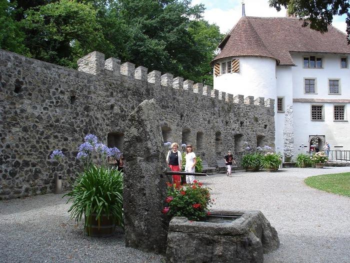 Замок Хальвиль (Schloss Hallwyl) 12890