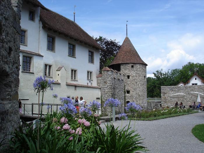 Замок Хальвиль (Schloss Hallwyl) 63860