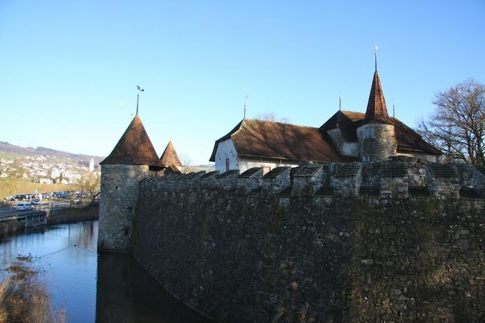 Замок Хальвиль (Schloss Hallwyl) 15525