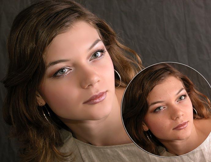 Экспресс-ретушь в Photoshop в два слоя