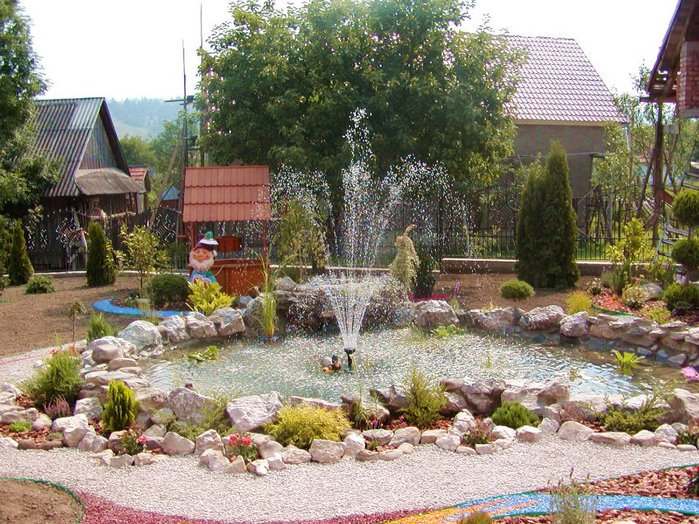 Садовые фонтаны и водопады в ландшафтном дизайне. Обсуждение на LiveInternet - Российский Сервис Онлайн-Дневников