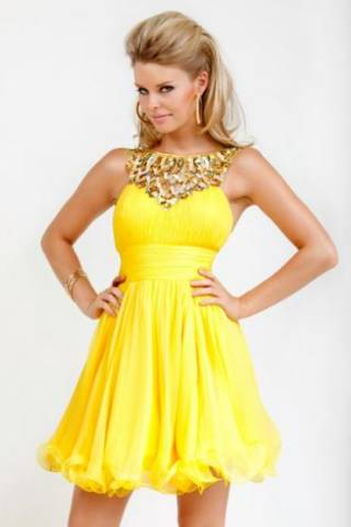 желтое платье (320x480, 13Kb)