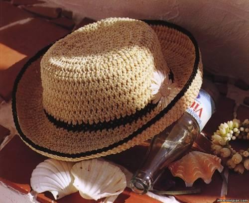 Схемы этих шляпок здесь