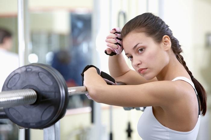Занятий в спортзале для похудения
