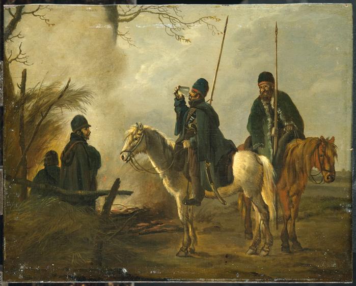 Kozakkenvoorpost in 1813 (700x563, 501Kb)