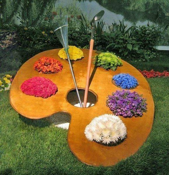 картинки садовых цветов: