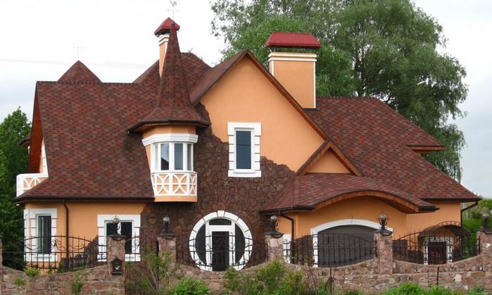 Мягкая кровля - лучший материал для современной крыши 1 (700x419, 97Kb)