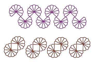 拼布刺绣的各种针迹(145种) - maomao - 我随心动