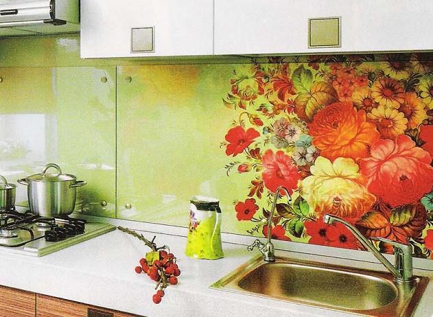 Стекло фартук на кухню своими руками