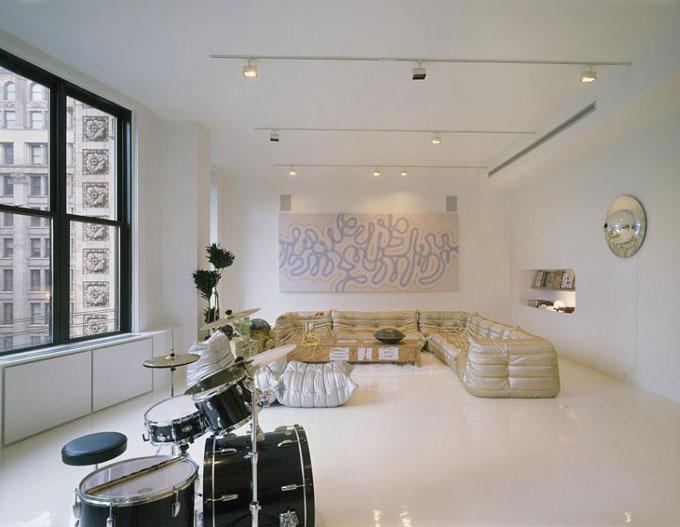 креативный дизайн квартиры фото (680x527, 77Kb)