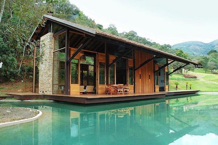 Уютный летний домик у озера от Карлы Беллетти 6 (700x464, 125Kb)