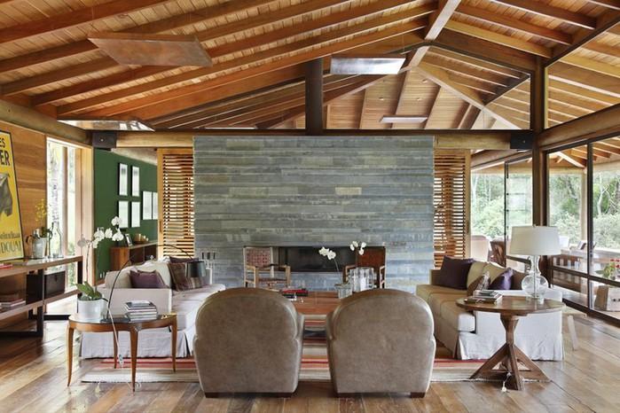 Уютный летний домик у озера от Карлы Беллетти 9 (700x466, 113Kb)