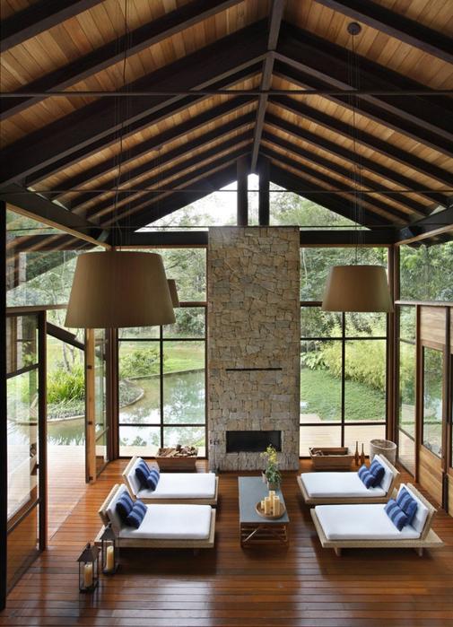 Уютный летний домик у озера от Карлы Беллетти 12 (505x700, 436Kb)