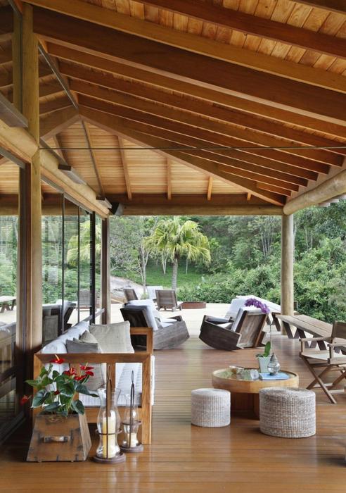 Уютный летний домик у озера от Карлы Беллетти 14 (492x700, 429Kb)