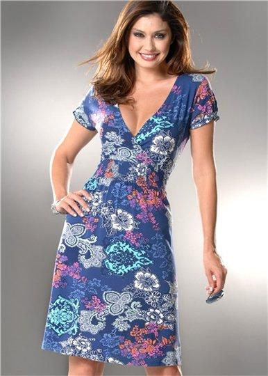 Шьем пляжное платье-тунику Eunice.ru