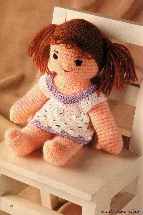 для вязания куклы Даша