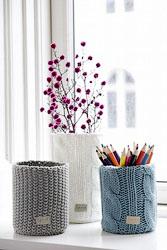 Оригинальные вазы своими руками: просто и со вкусом.