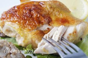 Как готовить курицу в духовке 5