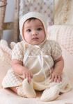 Белые комплекты для новорожденных