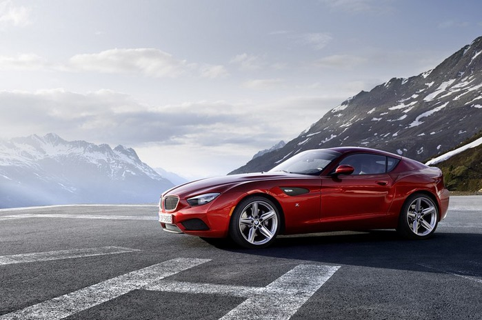 Обалденный BMW Zagato Coupe 2 (700x464, 86Kb)