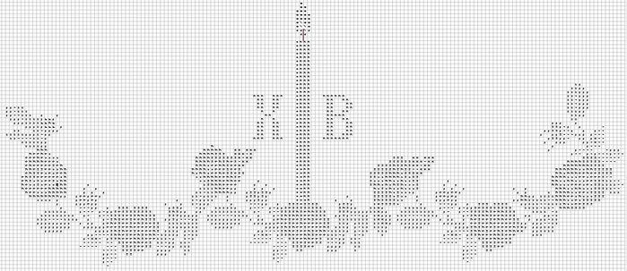 Схемы вязания крючком салфеток пасхальных 69