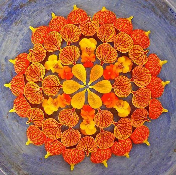 цветочные мандалы фото 33 (700x695, 265Kb)